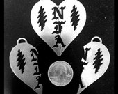 NFA Stainless Steel Friendship Pendant Charms