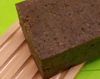 African Black Soap - Lemongrass Soap - Natural Soap - Handmade Soap - Natural Hair - Shampoo Bar -
