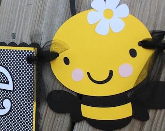 Bumble Bee Banner/ Bumble Bee Birthday