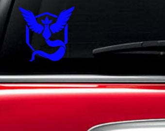 Team Mystic Pokemon Go car decal electronic decal
