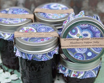 Blueberry Pepper Jelly - 4oz