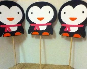 Cute Penguin Centerpiece