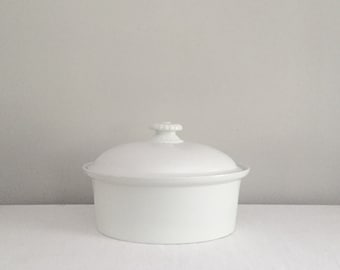 Large Finish Ironstone Serving Dish