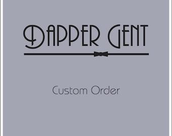 Shadow grey suspenders