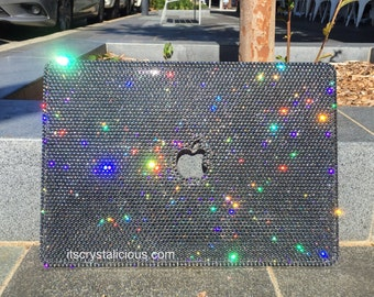 Bling Swarovski Crystal top MacBook cover
