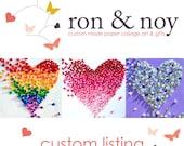 Custom Order for Jennifer  - Pink Ombre Butterfly Wall Art, 3D Butterfly Art, Nursery Wall Art, Baby Girl