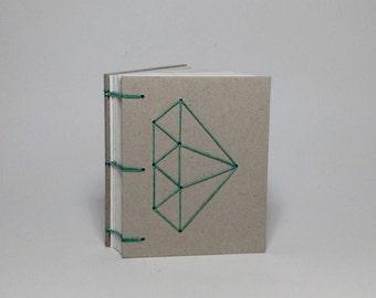 Mini Sage Diamond Journal
