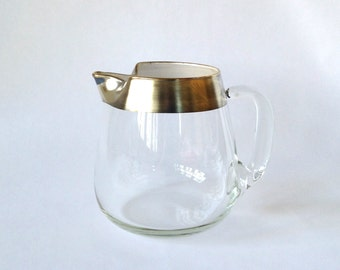 Dorothy Thorpe Silver Banded Drinks Pitcher