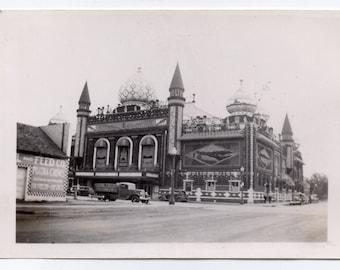 Corn Palace Mitchell South Dakota Vintage Photo With Negative Paper Ephemera Historical Davison County