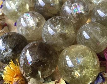Citrine Spheres