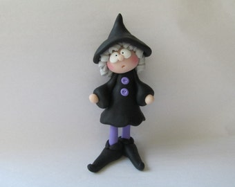 Polymer Clay Witch