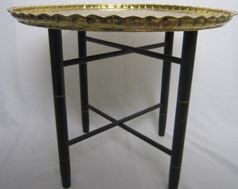 Vintage Morroccan Tray Table