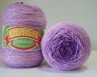 Superwash Merino, Silk, Gradient, shawl yarn, fingering weight 600 yards 150 gr