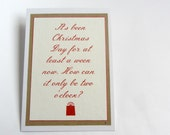 Mycroft Holmes Christmas card (single) quote His Last Vow, holidays, greeting card, best friend, partner, family