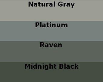 Mosaic Grout Black and Dark Gray Variety Pack SANDED Four Colors