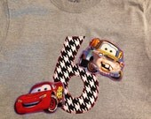 Disney Cars shirt / Disney shirt / Disney Cars appliqued shirt / Cars Shirt / Cars Birthday shirt / Disney Cars / Cars Birthday