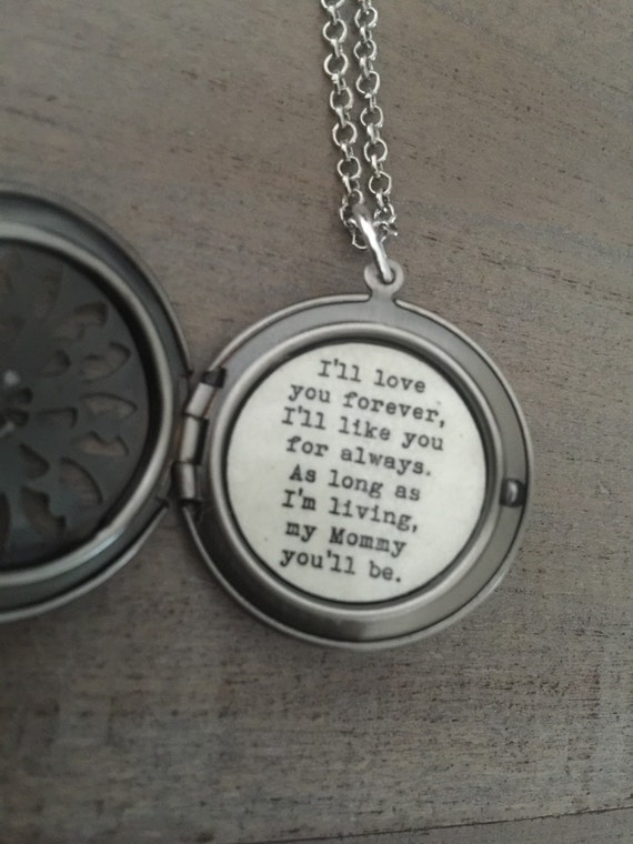 Ill Love You Forever Necklace Mommy