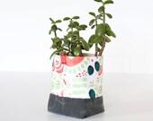Fabric Bucket - Flourish