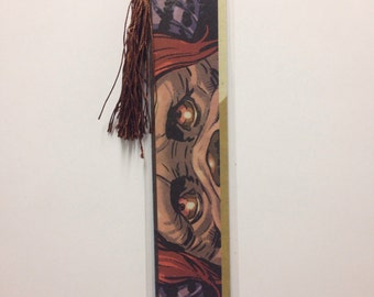 Upcycled Labyrinth Ludo Comic Book Bookmark