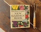 Vintage Better Homes & Gardens Book New Garden Book Gardening Binder