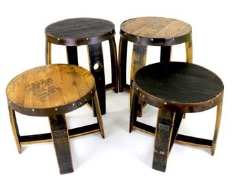 Bourbon Barrel End Tables