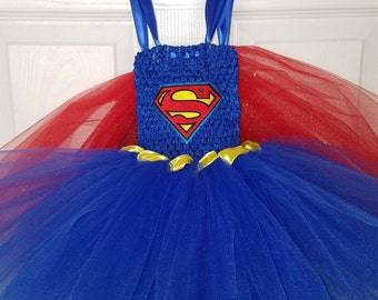 Superman (baby) tutu dress.