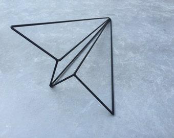 Airplane . Minimalist Decor . Geometric