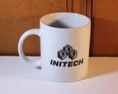 Vintage Initech Mug Office Space Lumberg Michael Bolton Samir Take This Job and Shove It