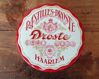 Vintage tin - Droste Chocolate Tin