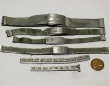 4 art deco wrist watch bands E-217