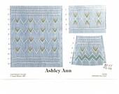 "English Smocking Plate ""Ashley Ann"" by Gwen Milner"