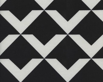 Black and White 2016 - Up and Up in Black -  Rashida Coleman-Hale for Cotton + Steel - (5062-2) - 1/2 Yard