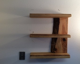 Live Edge Shelf in Incense Cedar
