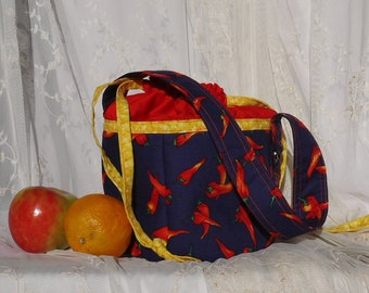 Lunch bucket Lunch sack Lunch bag or just a fun tote or purse