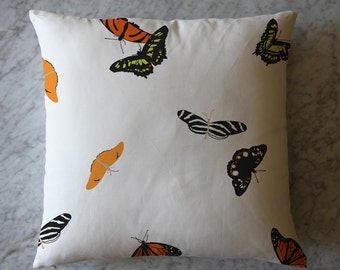 Pillow with Butterflies. July 8, 2013