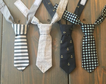 Mini ties/ baby boy tie/ newborn tie/ infant tie