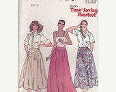 ON SALE 1970s Butterick Sewing Pattern No 6461 for Womens Skirt Size 14  28 inch waist, Uncut, Factory Folded
