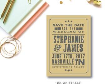 Union Street Save the Dates