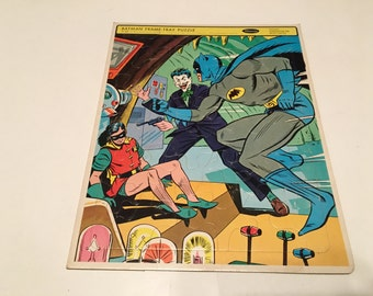 1966 batman frame tray puzzle whitman