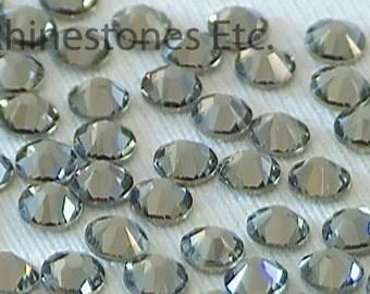 Black Diamond 12ss Swarovski Elements Rhinestones Flat Back 36 pieces