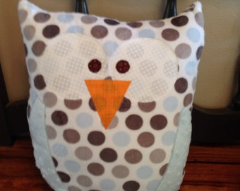 Handmade Owl Pillow
