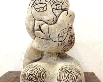 The Kiss Sculpture