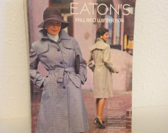Vintage Eatons Catalog, Vintage Fashion Catalogue,