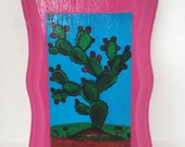 Loteria Nopal/Cactus Wall Plaque