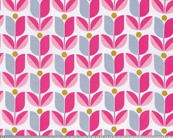 True Colors by Joel Dewberry for Free Spirit - Tulip - Pink - 1/2 Yard Cotton Quilt Fabric 916