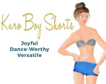 Womens Boy Shorts Sewing Pattern - Easy to Sew - PDF - XS- XXL