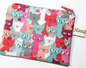 Coin purse, change purse, cat purse, gift for cat lover