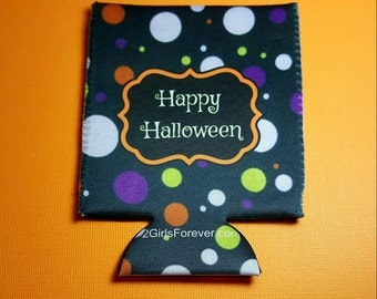 Halloween Cozie Party Gift Soda Can Cooler Drink Cooler Beer Cozie Beverage Insulator