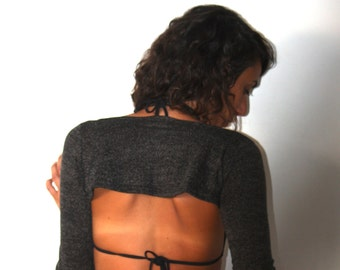 hand warmer, long sleeves top to hang on belt, festival clothing, sleeves pullover, steampunk wrist warmers