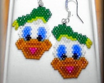 Duck Earrings - University of Oregon